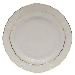 Herend china golden edge bread & butter plate