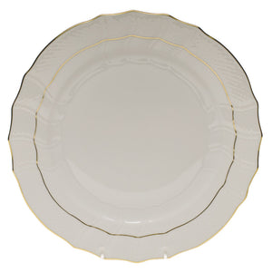 Herend China Golden Edge Dinner Plate