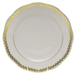 Herend golden laurel dessert plate