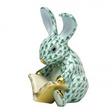 Herend storybook bunny green