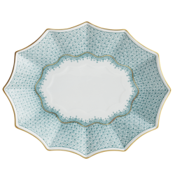 Mottadeheda Green Lace Sided Tray