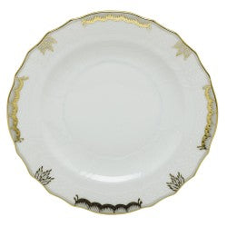 Herend princess victoria  gray salad plate