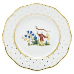Herend China  Asian Garden Salad Plate