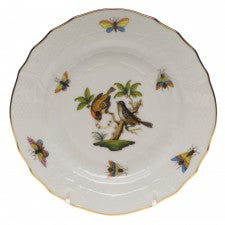 Herend China Rothschild Bird Bread Butter & Butter Plate
