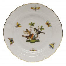 Herend China Rothschild Bird Bread & Butter Plate