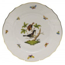 Herend China Rothschild Bird Dinner Plate