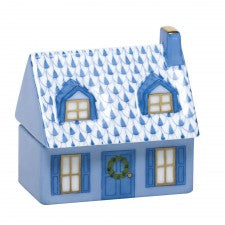 Herend Figurines Home Sweet Home Blue