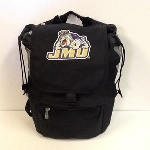 Cooler backpack black JMU