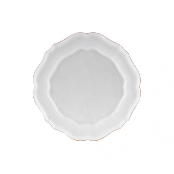 Casafina Impressions White Dinner Plate