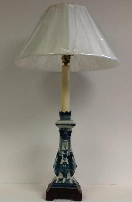 Blue And White Buffet Lamp