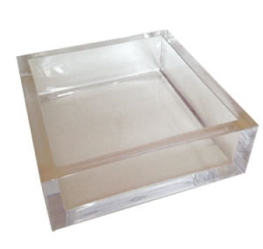 Lucite Caspari Cocktail Napkin Holder
