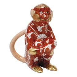 Herend Figurine Chinese Zodiac Monkey