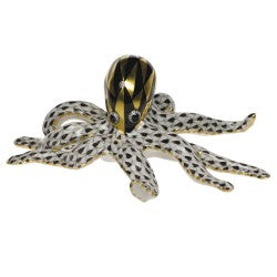 Herend octopus black