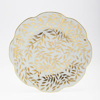 Royal limoges olivier gold dessert plate
