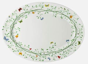 Raynaud Wing Song Oval Platter