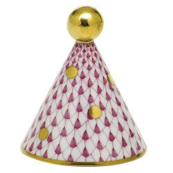 Herend Party Hat Pink