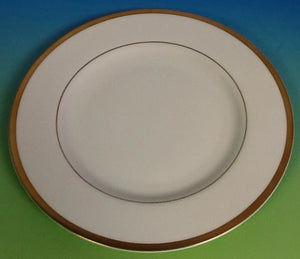 Pickard Signature Ultra White And Gold Bread And Butter Plate