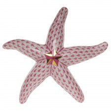 Herend pink starfish