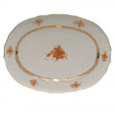 Herend chinese bouquet rust platter