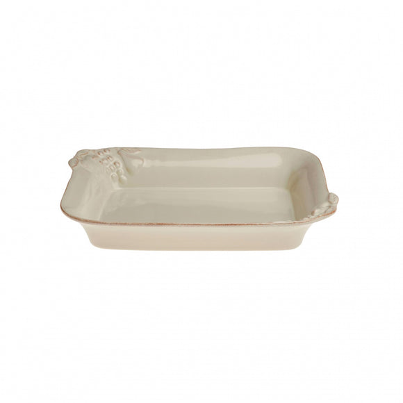Madeira harvest medium rectangular baker cream