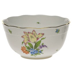 Herend round bowl printemps