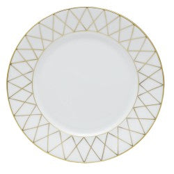 Herend golden trellis salad plate
