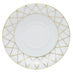Herend golden trellis tea saucer