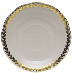 Herend tea saucer golden laurel