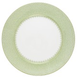 Mottahedeh apple green lace service plate