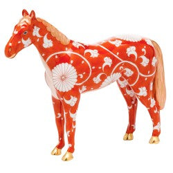 Herend Figurine Chinese Zodiac Small Horse