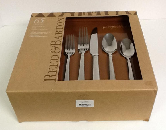 Reed And Barton Prospective Stainless 65 Piece  Set