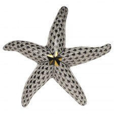 Herend starfish black