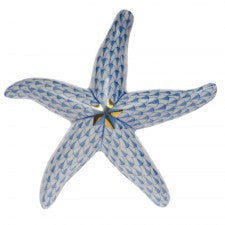 Herend starfish blue