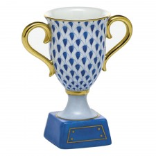 Herend trophy cobalt blue