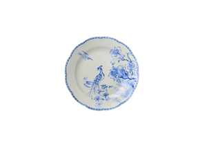 Mottahedeh Virginia Blue Bread & Butter Plate With Center