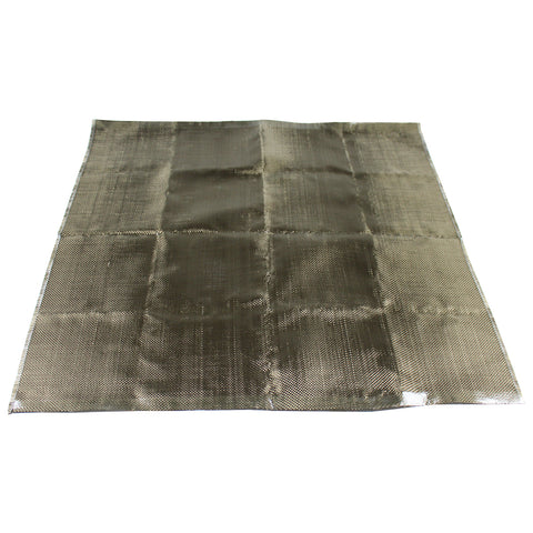 Basalt Fiber Heat Protection Shield - Titanium Color  Exhaust - Welding - Fuel Cell
