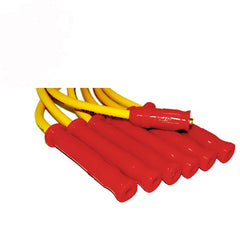 10.4mm Chevy II spark plug wire set I6 250 292 CID - Yellow/red