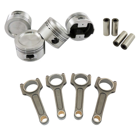 Forged piston and Connecting rod kit for VW 1.8 8V (83,5mm) 1100hp