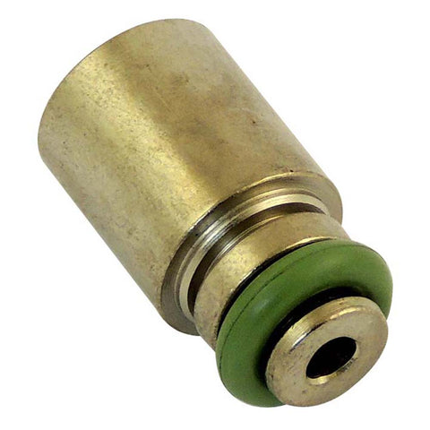 E85 safe Fuel injector top hat extender