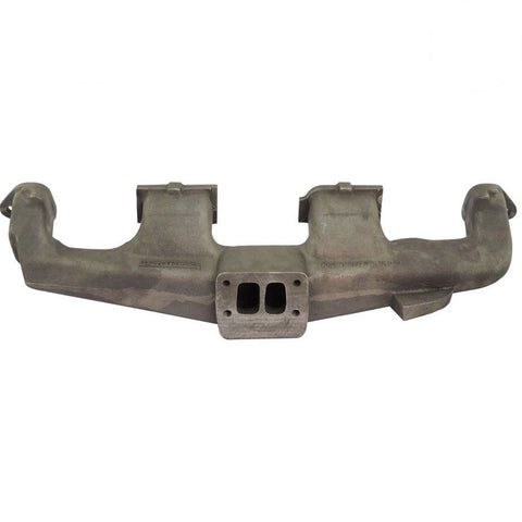 Tmc T Large on Ford Inline 6 Turbo Manifold