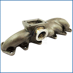 Toyota 2JZ-GTE T4 turbo manifold 44mm V-band WG