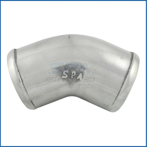 "2.25"" tight radius aluminum cast 45° elbow"