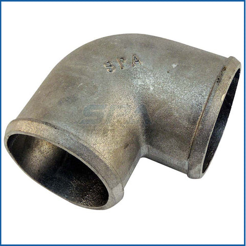 "3"" tight radius aluminum cast 90° elbow"