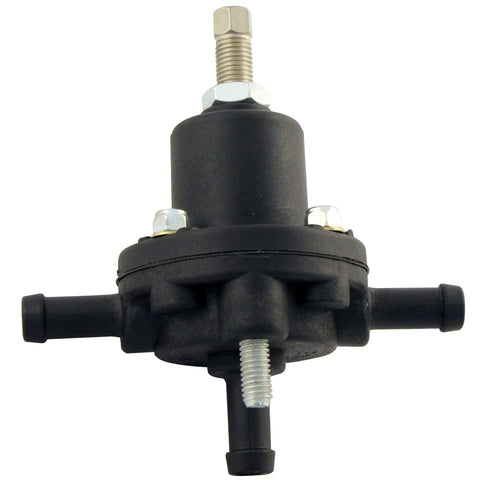 10-100 PSI Fuel pressure regulator for dual rail or returnless fuel type lines