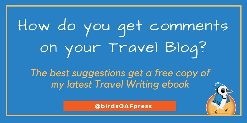 The best comments on this blog post get a #free copy of my new #TravelWriting ebook  #travel