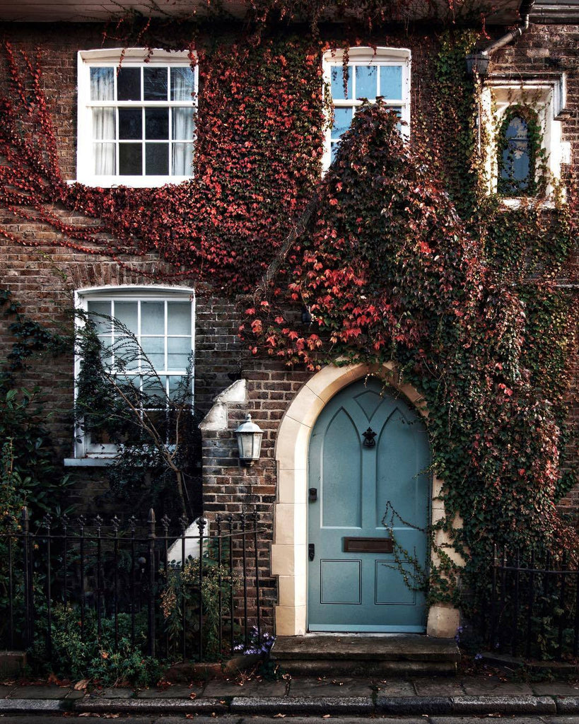 #autumn #fall #London #travel #cozy #house #home #exterior