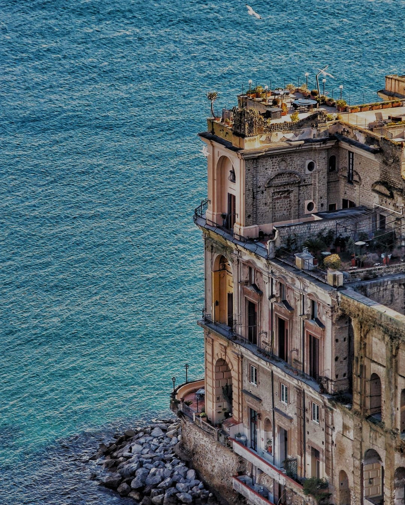 #PalazzoDonn'AnnaPosillipo #Naples #Italy #mediterranean #@anakena88 #instagram #ocean #sea #architecture #coast #travel #wanderlust #wander #vacation #holiday