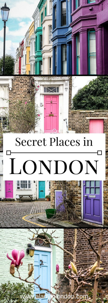 7 secret places in London you have to discover