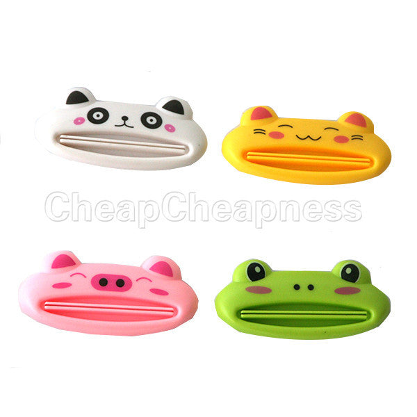 1pcs Cute Animal multifunction squeezer / toothpaste squeezer Home