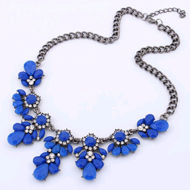 2015 New High quality  fashion gift gold necklace chain Shourouk